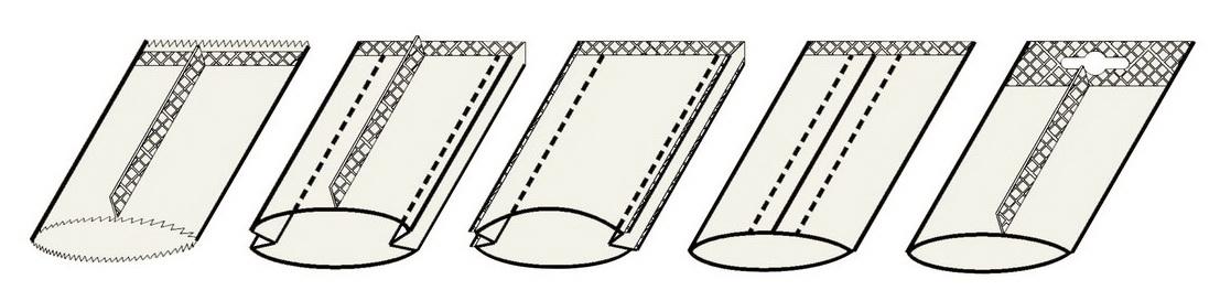 FKSC-V forme de sac