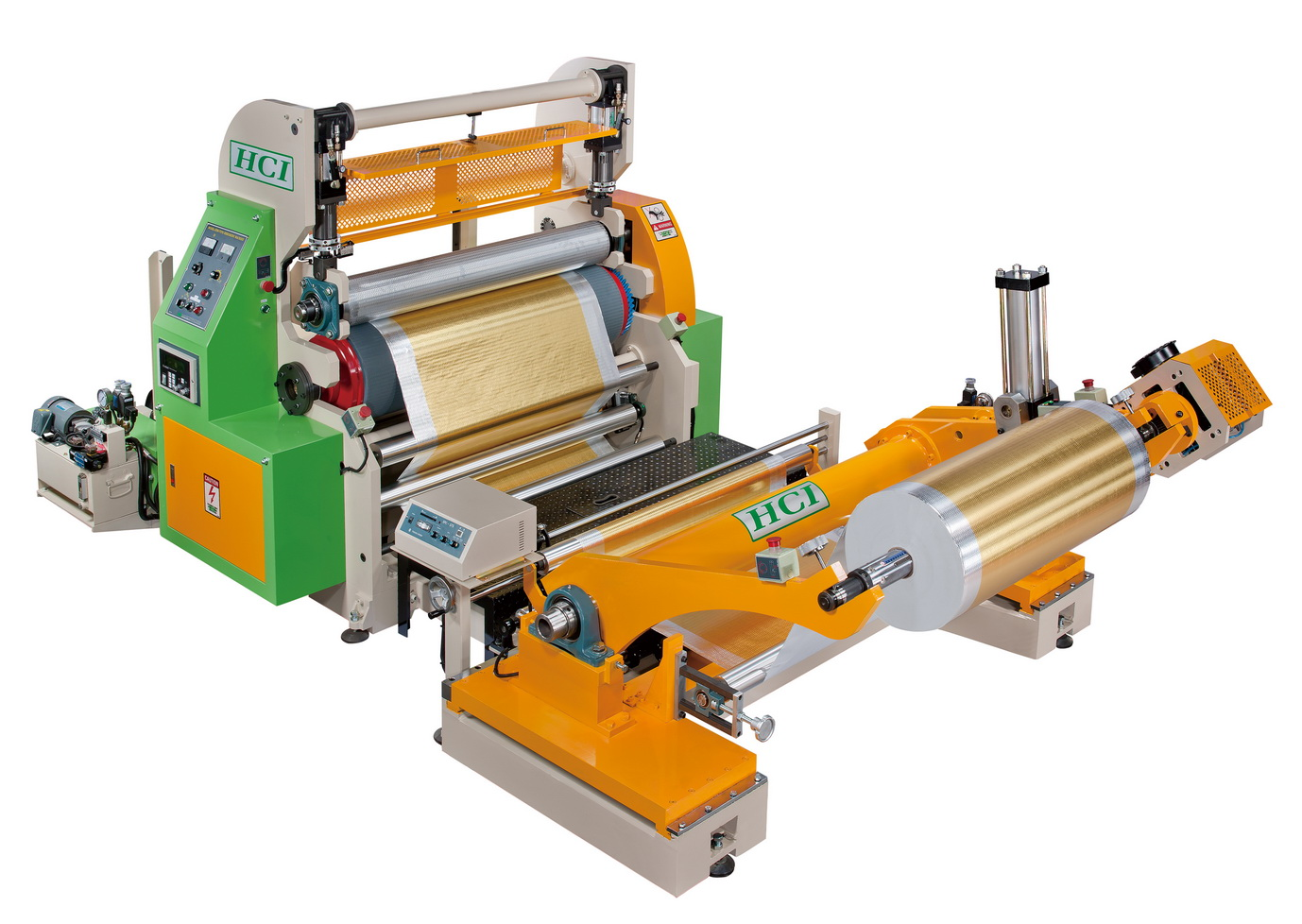 The newest model of HCI embossing machine